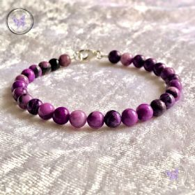 Classical Sugilite Healing Bracelet
